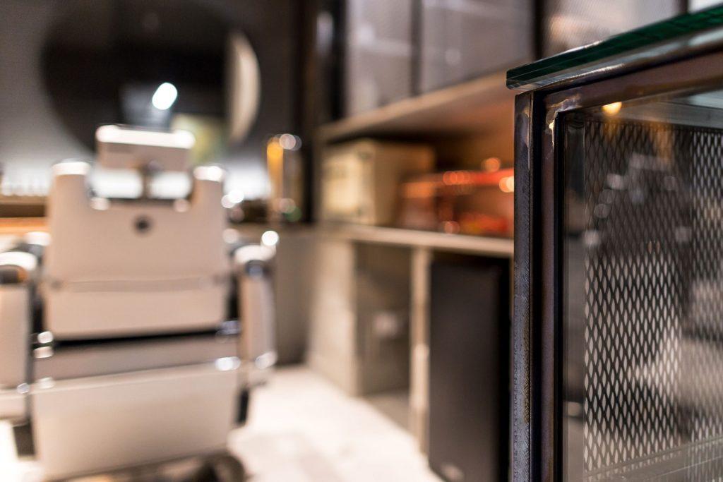 detalle de mueble metal Vigo