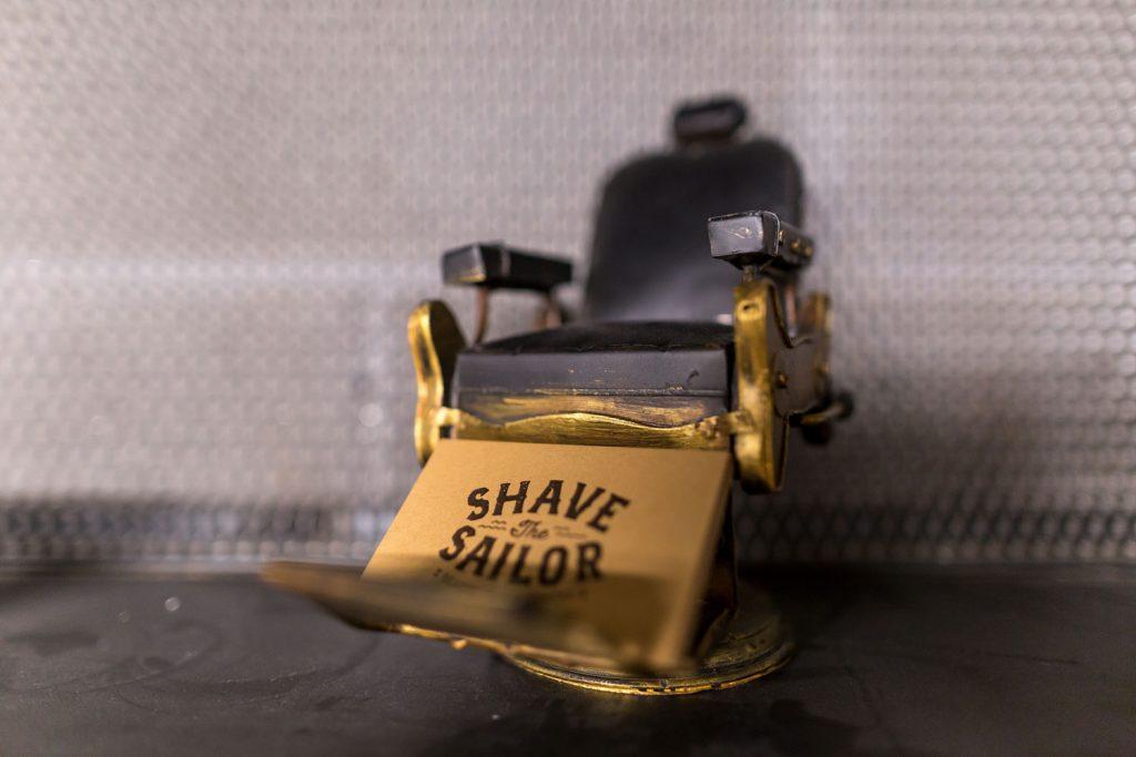 Tarjetas de visita shave the sailor