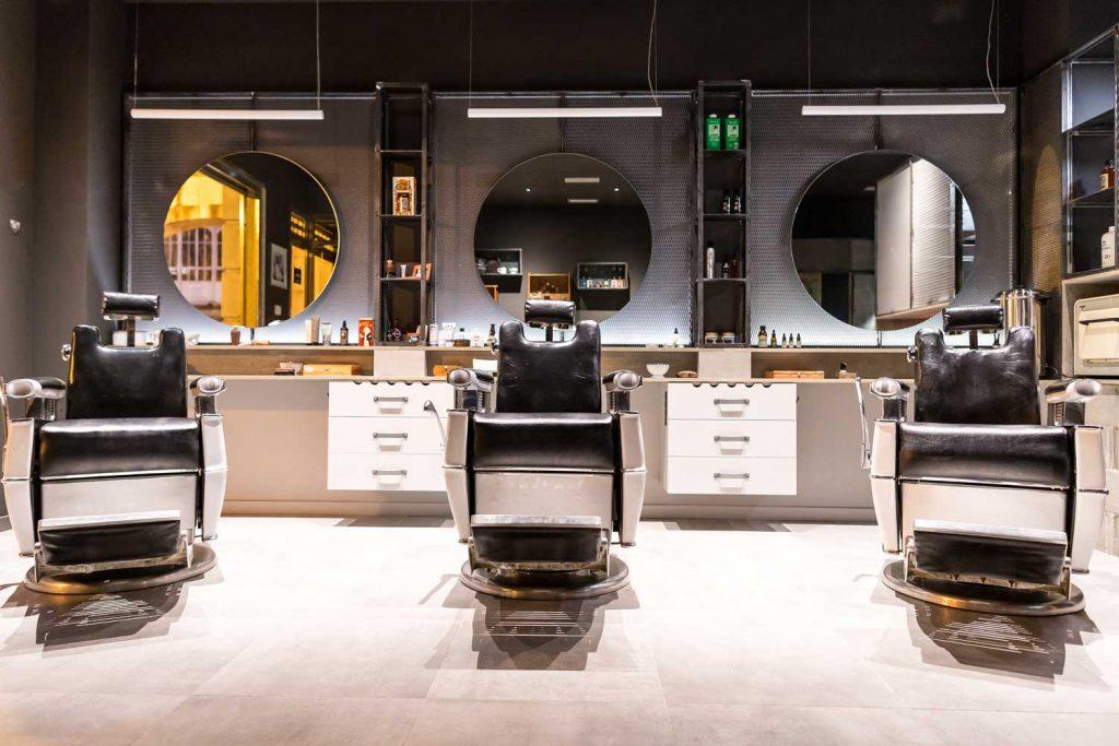 Sillas barbero americanas en Vigo